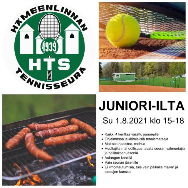 Juniori-ilta Aulangon kentillä sunnuntaina 1.8.2021 klo 15-18